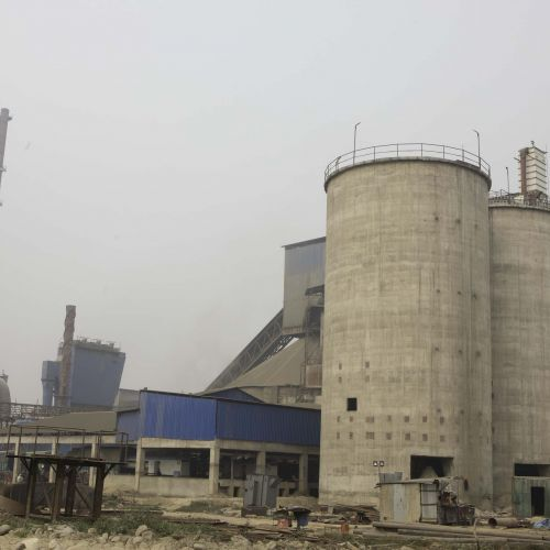 Nepali cement factory