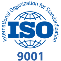 ISO certification logo