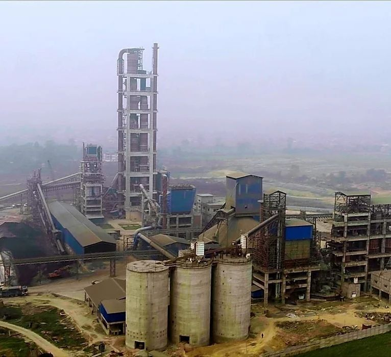 Image of cement factory in Nepal